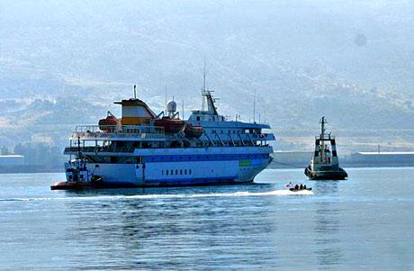 Mavi Marmara Türkiye'ye geldi galerisi resim 9