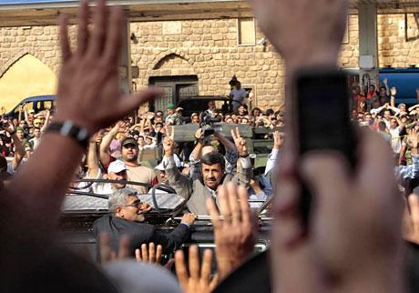 Ahmedinejad Hizbullah mitinginde galerisi resim 1