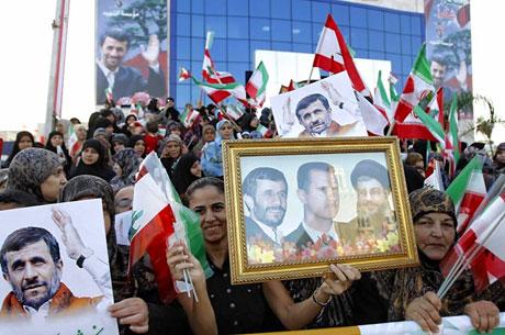 Ahmedinejad Hizbullah mitinginde galerisi resim 10