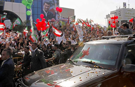 Ahmedinejad Hizbullah mitinginde galerisi resim 11