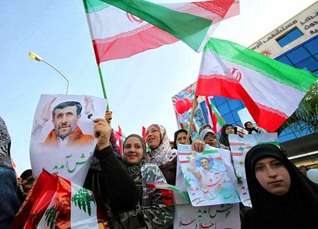 Ahmedinejad Hizbullah mitinginde galerisi resim 12