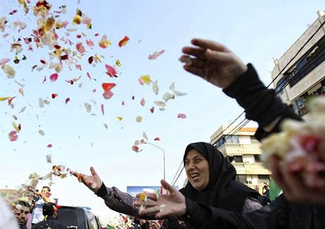 Ahmedinejad Hizbullah mitinginde galerisi resim 14