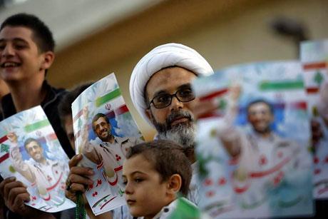 Ahmedinejad Hizbullah mitinginde galerisi resim 15