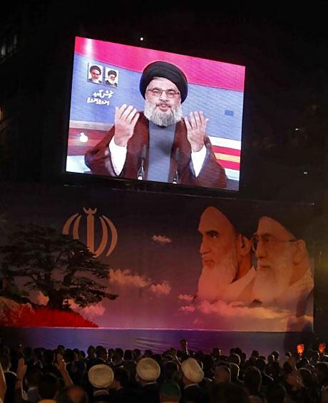 Ahmedinejad Hizbullah mitinginde galerisi resim 5
