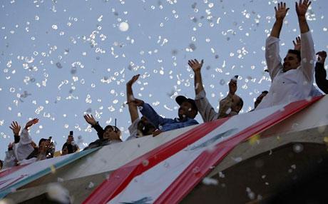 Ahmedinejad Hizbullah mitinginde galerisi resim 6