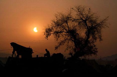 En güzel Güneş tutulması resimleri galerisi resim 20