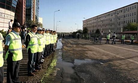 KCK Davası'na yoğun güvenlik önlemi galerisi resim 3