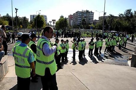 KCK Davası'na yoğun güvenlik önlemi galerisi resim 31