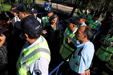 KCK Davası'na yoğun güvenlik önlemi galerisi resim 38