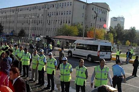 KCK Davası'na yoğun güvenlik önlemi galerisi resim 6