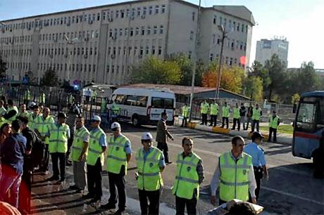 KCK Davası'na yoğun güvenlik önlemi galerisi resim 9