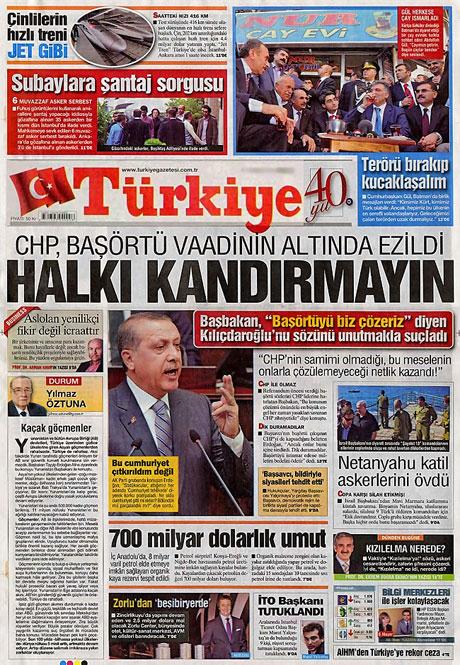 İşte günün gazete manşetleri galerisi resim 14