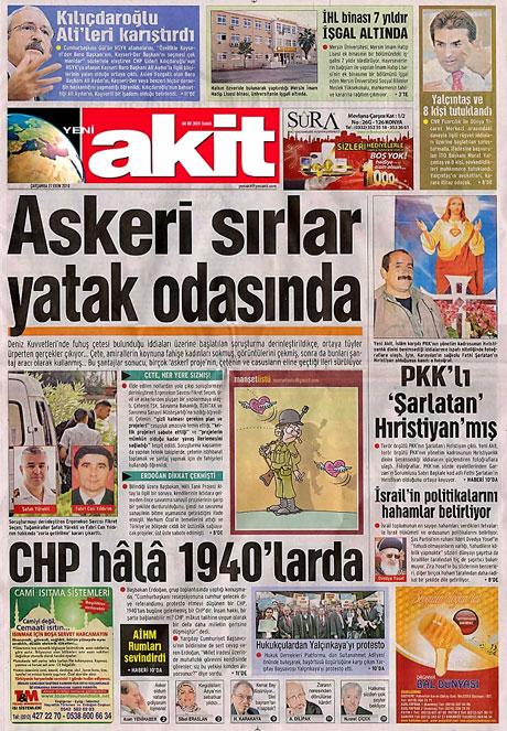 İşte günün gazete manşetleri galerisi resim 15
