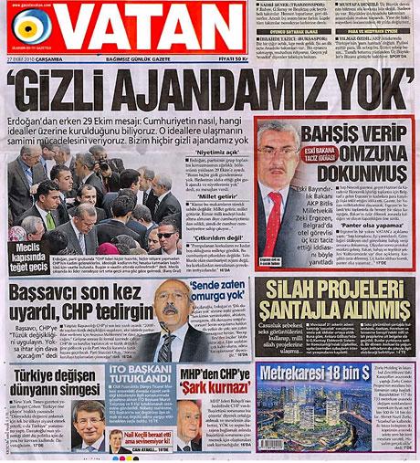 İşte günün gazete manşetleri galerisi resim 16