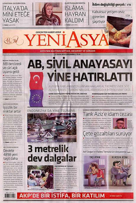 İşte günün gazete manşetleri galerisi resim 17