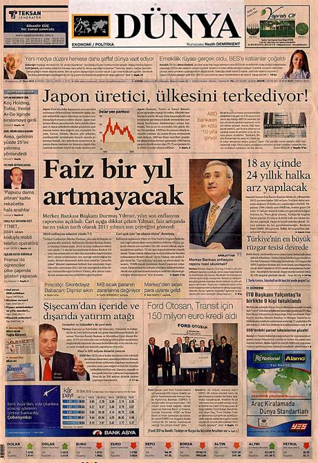İşte günün gazete manşetleri galerisi resim 4