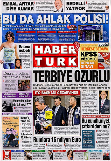 İşte günün gazete manşetleri galerisi resim 7