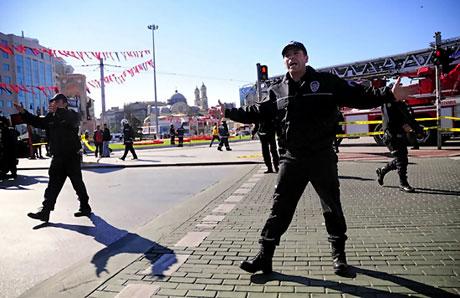 Taksim'de canlı bomba saldırısı galerisi resim 1