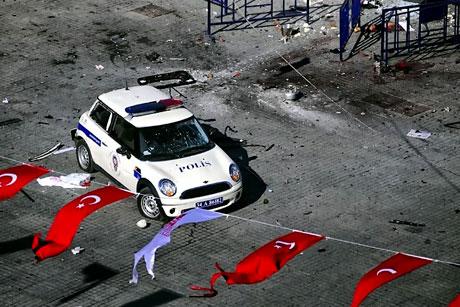 Taksim'de canlı bomba saldırısı galerisi resim 15