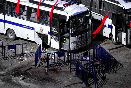 Taksim'de canlı bomba saldırısı galerisi resim 17
