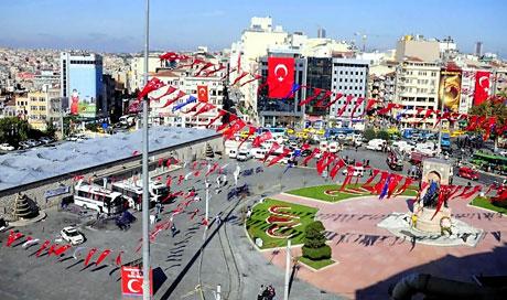 Taksim'de canlı bomba saldırısı galerisi resim 18