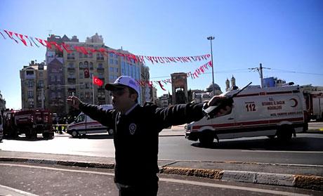 Taksim'de canlı bomba saldırısı galerisi resim 2