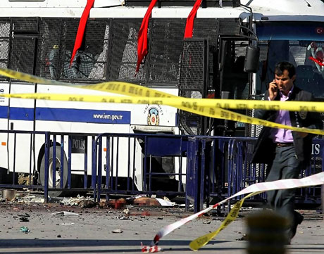 Taksim'de canlı bomba saldırısı galerisi resim 20