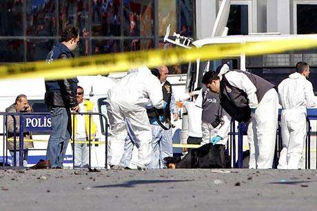 Taksim'de canlı bomba saldırısı galerisi resim 4