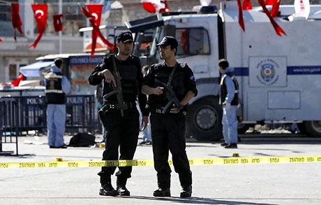 Taksim'de canlı bomba saldırısı galerisi resim 5