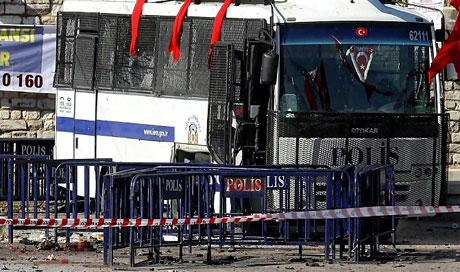Taksim'de canlı bomba saldırısı galerisi resim 6