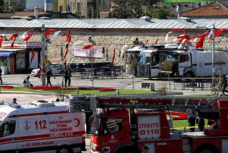 Taksim'de canlı bomba saldırısı galerisi resim 7