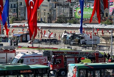 Taksim'de canlı bomba saldırısı galerisi resim 9