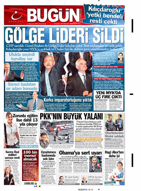 CHP hakkında en ilginç manşetler galerisi resim 1