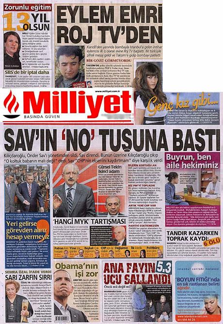 CHP hakkında en ilginç manşetler galerisi resim 11