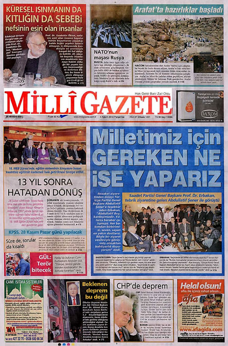CHP hakkında en ilginç manşetler galerisi resim 12