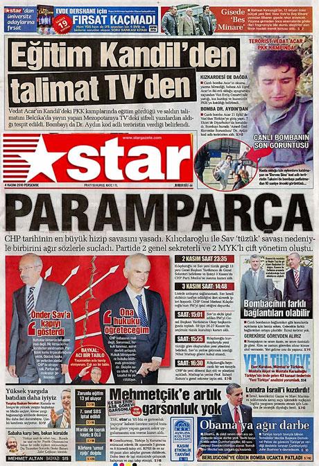 CHP hakkında en ilginç manşetler galerisi resim 13
