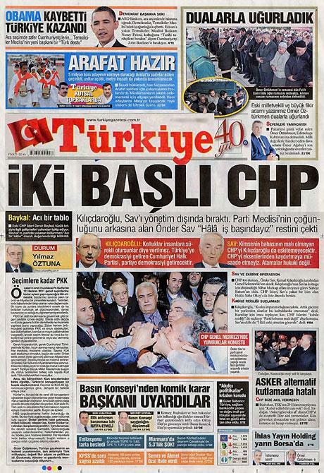 CHP hakkında en ilginç manşetler galerisi resim 15