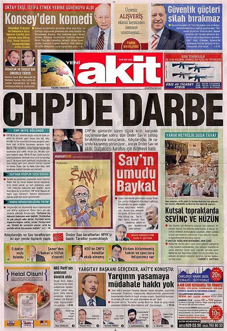 CHP hakkında en ilginç manşetler galerisi resim 16