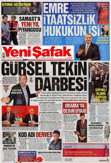 CHP hakkında en ilginç manşetler galerisi resim 17