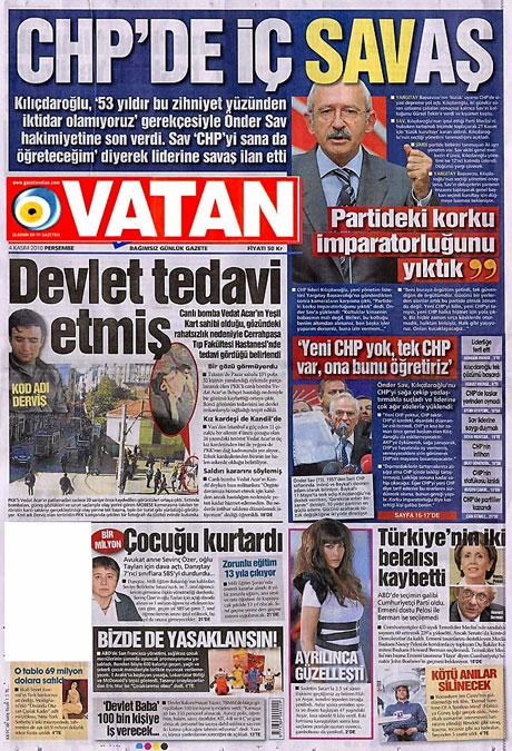 CHP hakkında en ilginç manşetler galerisi resim 19