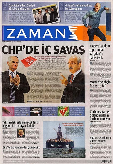 CHP hakkında en ilginç manşetler galerisi resim 2
