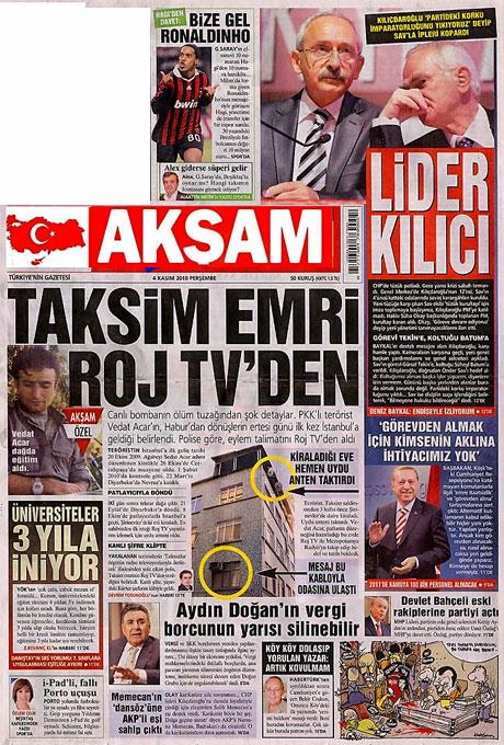 CHP hakkında en ilginç manşetler galerisi resim 3