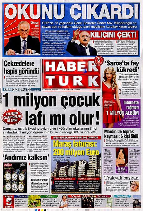 CHP hakkında en ilginç manşetler galerisi resim 9