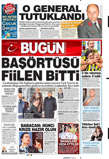 İşte günün gazete manşetleri galerisi resim 1