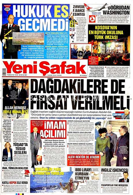 İşte günün gazete manşetleri galerisi resim 18