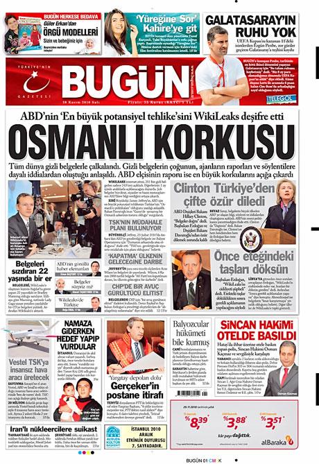 Türk basınında Wikileaks manşetleri galerisi resim 1