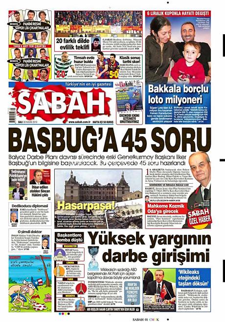 Türk basınında Wikileaks manşetleri galerisi resim 12