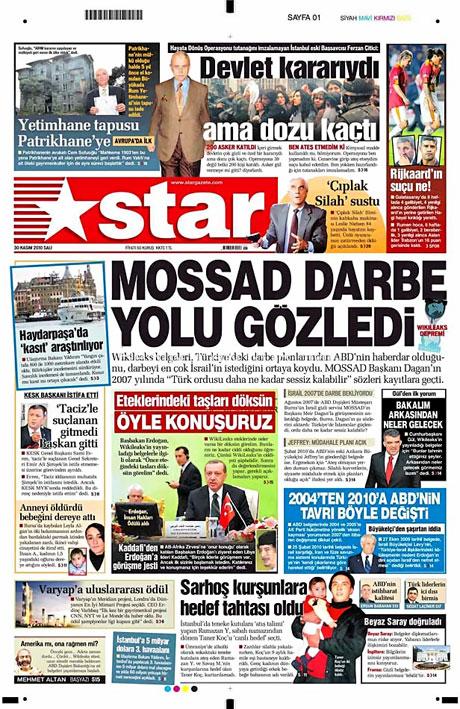 Türk basınında Wikileaks manşetleri galerisi resim 13