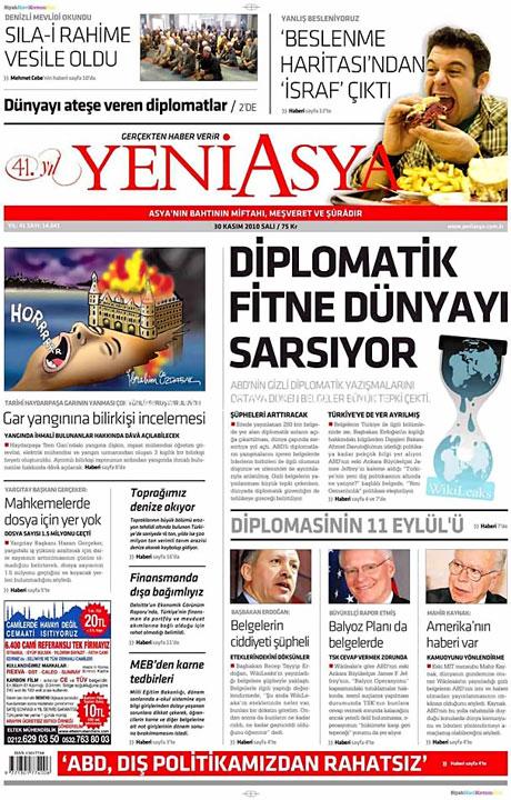 Türk basınında Wikileaks manşetleri galerisi resim 17