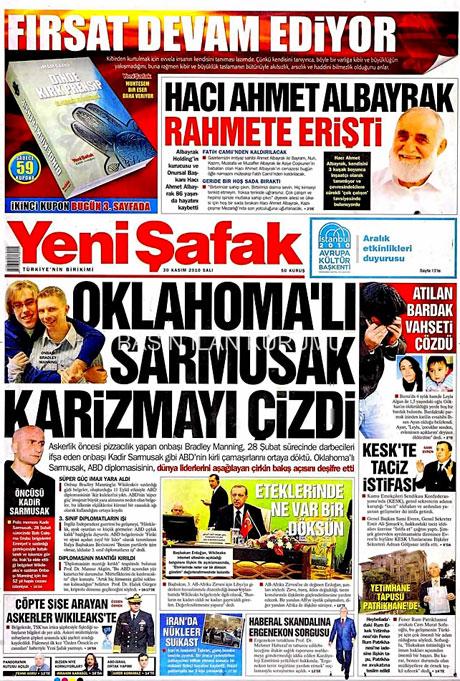 Türk basınında Wikileaks manşetleri galerisi resim 18